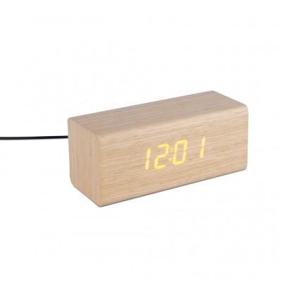 Despertador Timber en Madera