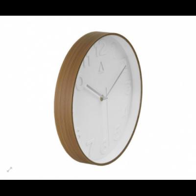 Reloj de pared  blanco con...